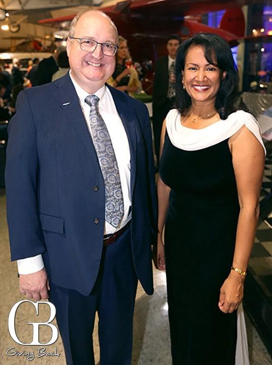 Mike Tompos and Kay Sundaram