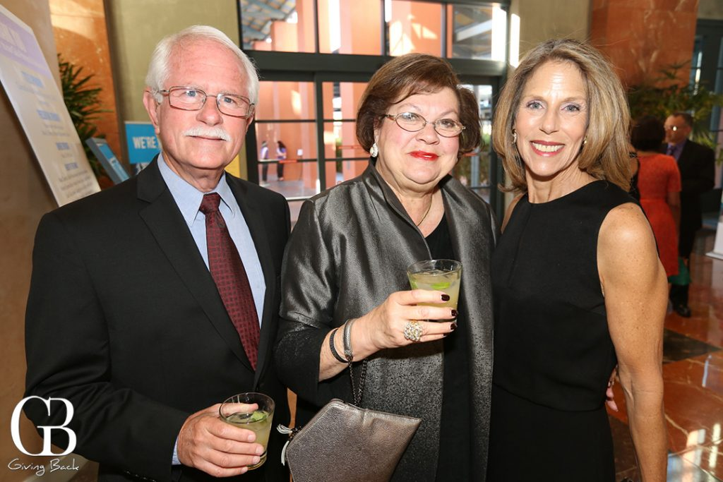 Mike and Linda Bennet with Karen Silberman