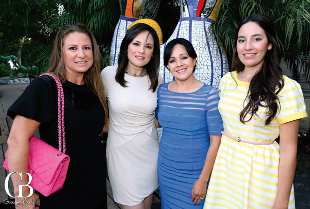 Mildred Crosthwaite  Judith Medrano  Adriana Medran and Andrea Acevedo