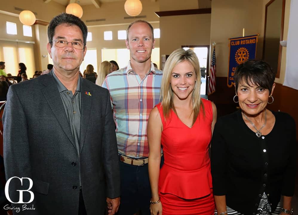 Mile Lanier  Ricky Lang  Heidi Cramer y Diane Nares