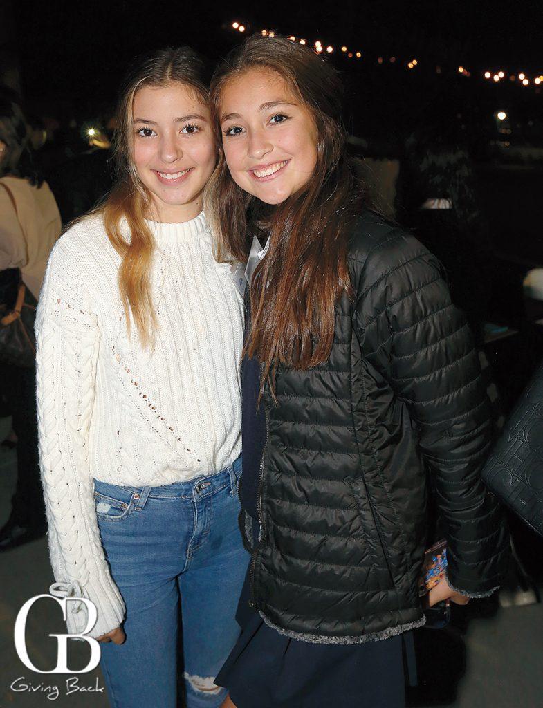 Mirella Santillan and Isabella Arnaiz