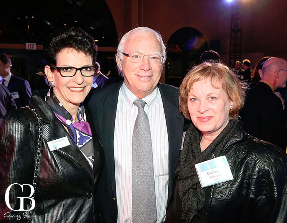 Miriam Norten with Paul and Shelley Michelson