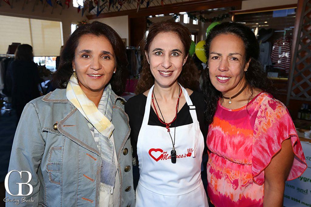 Miriam Valades  Elva Buck and Anilu Maynez
