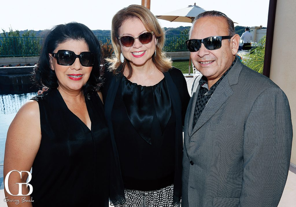 Mirna Rivera  Lida S. Martinez and Ted Martinez Jr.