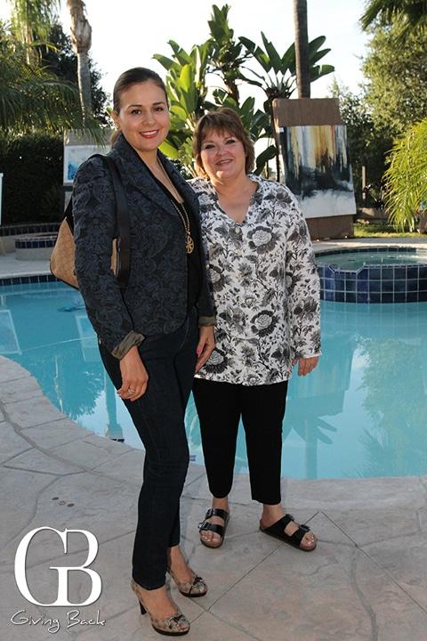 Mirna Santiago y Ana Elsa Maldonado