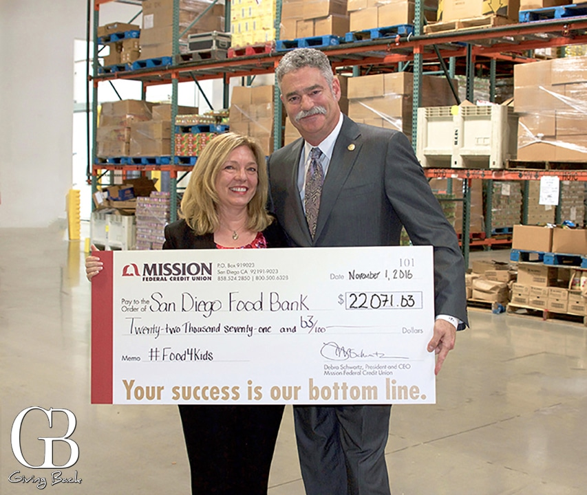 Mission Fed and the San Diego Food Bank