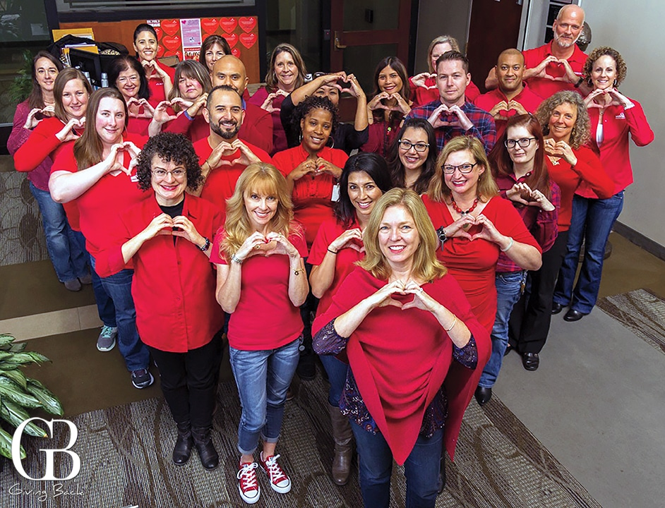 Mission Fed goes Red for Women
