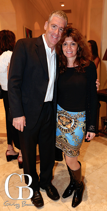 Mitch Simon and Ruthi Swartzberg