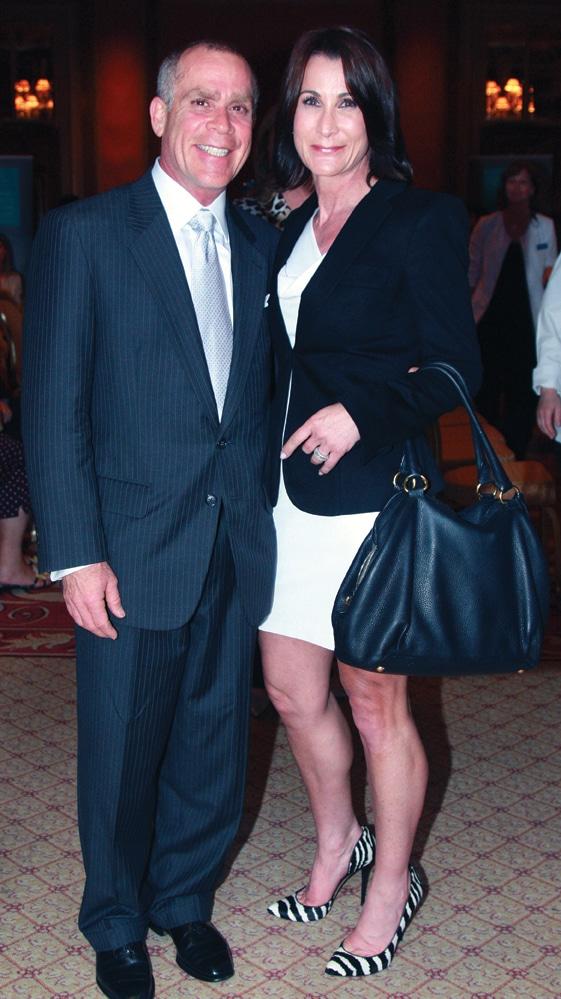 Mitchel and Laura Goldman +