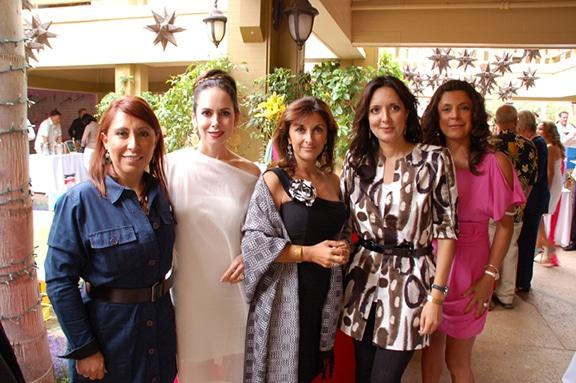 Monica Terreros, Leticia Derr, Karla Standford, Marcela Calva y Sonia Miranda.JPG