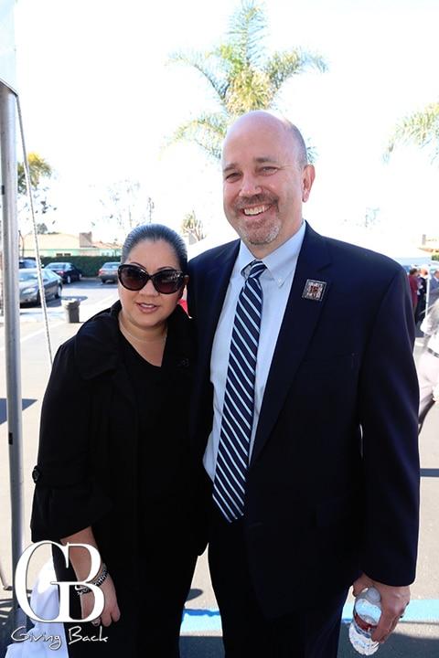 Monica Montano and Kevin Mattson