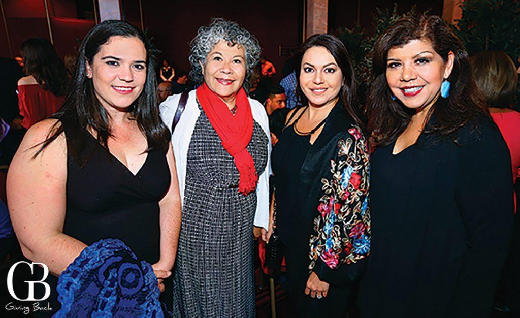 Monica Orozco  Maru Cham  Olga Trujillo and Berenice Zamaro