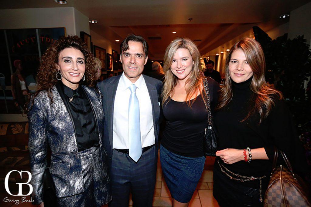 Myriam Smotrich  Vahid Moradi  Sandy Callan and Ruth Melero