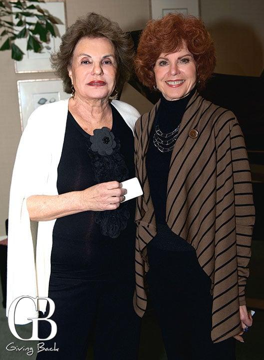 Myrna Farkas and Geri Horton