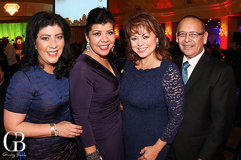 Myrna Rivera  Berenice Zamaro with Lidia S. and Ted Martinez