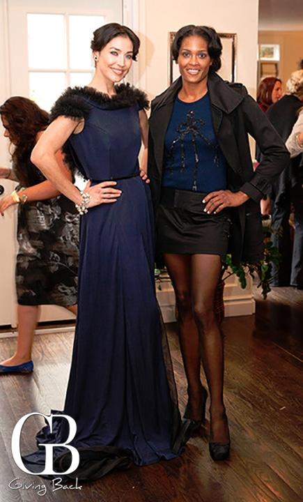 Nadia Gastelum and Saam McBride