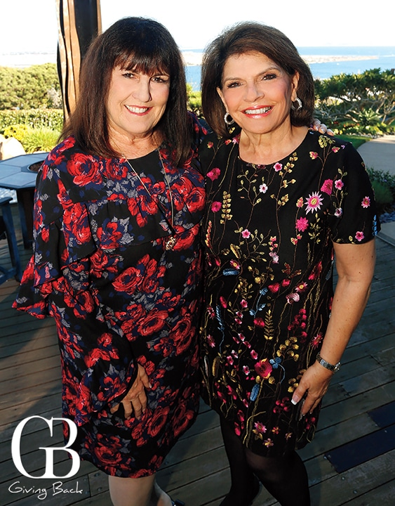Nancie Geller and Phylicia Cicalo   Aiken
