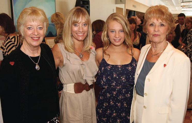 Nancy Bush with Laurie, Morgan and Marlene  Sterling.JPG