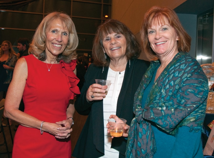 Nancy Butler, Karry Dennis and Colleen Sharp