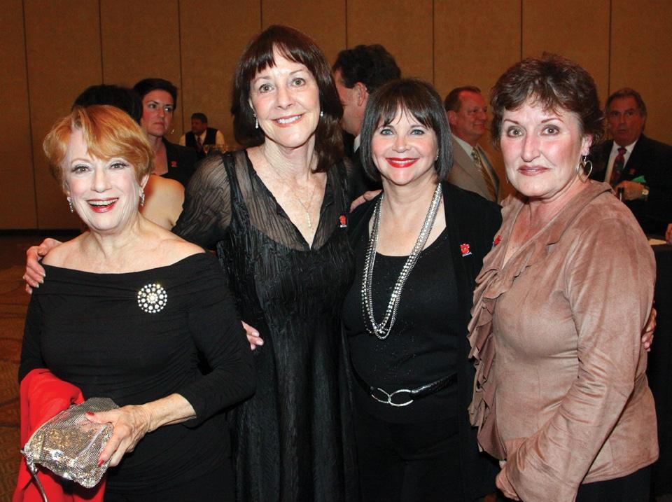 Nancy Dussault, Annelle Aviani Baum, Cyndi Williams and Belinda ++.JPG