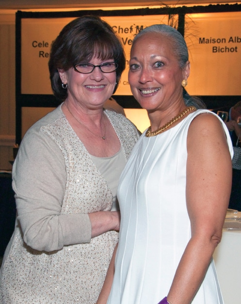 Nancy Garza and Marilyn Jones