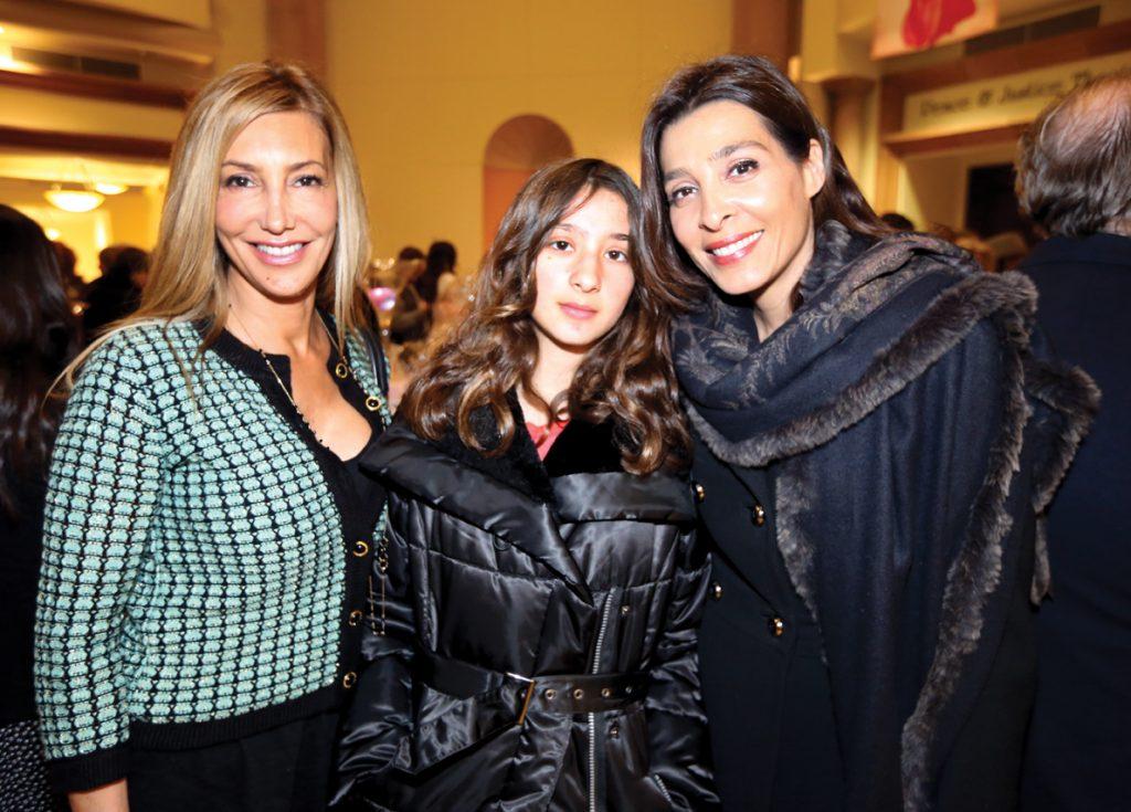 Nancy O'Conner, Noorva Kili and Ommid Asbaghi.JPG