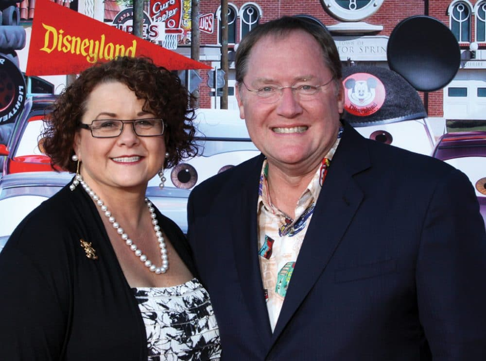 Nancy and John Lasseter.JPG