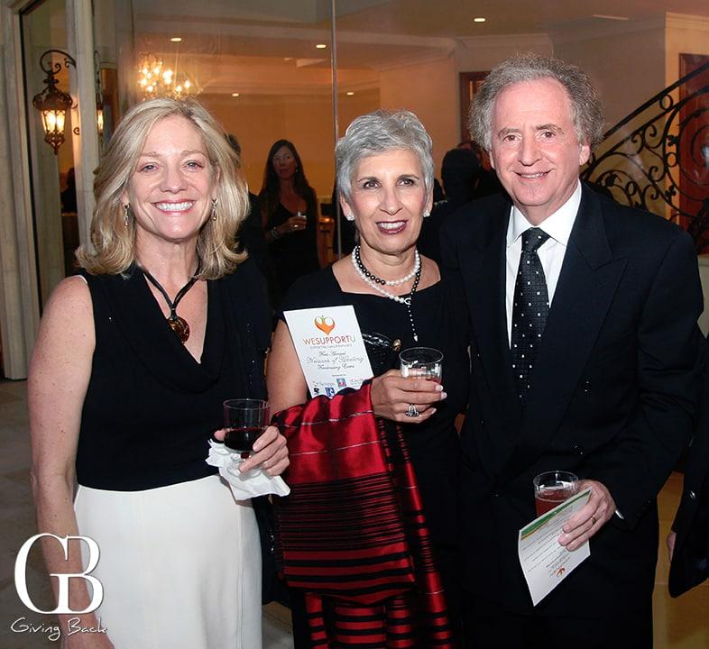 Nancy Harrision with Jan and Ed Friedman