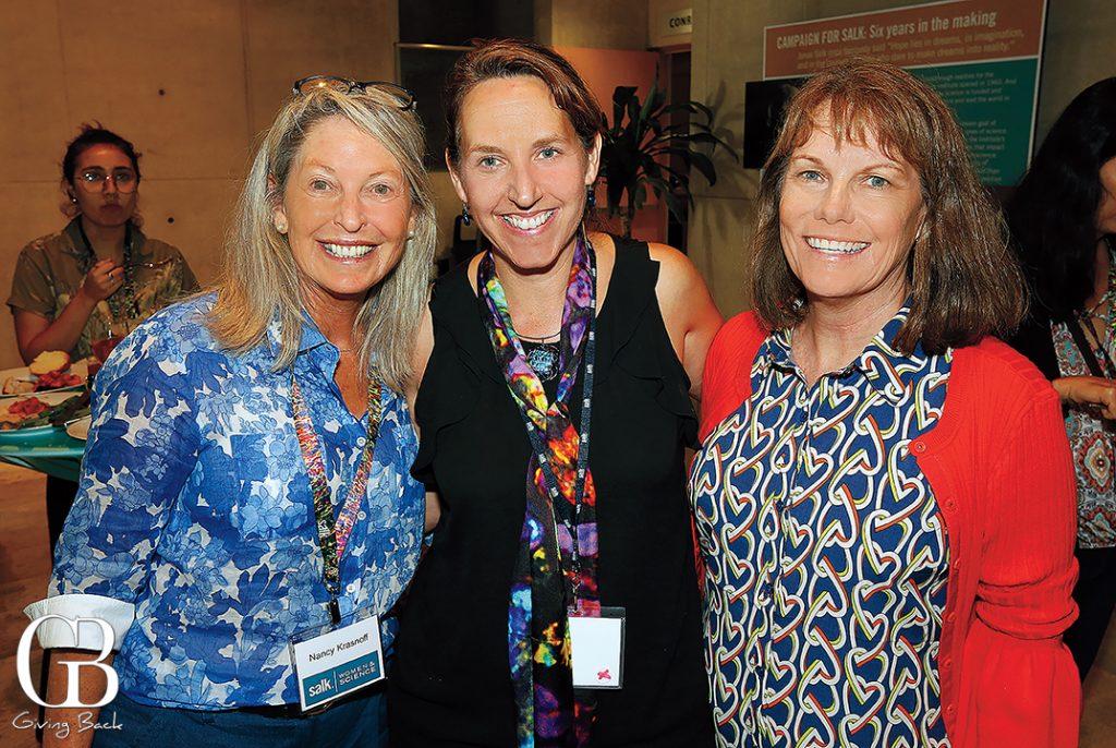 Nancy Krasnoff  Susan Kaech and Kathleen McClain
