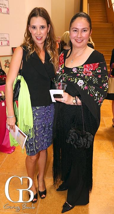 Naomi Gallego and Berenice Blake