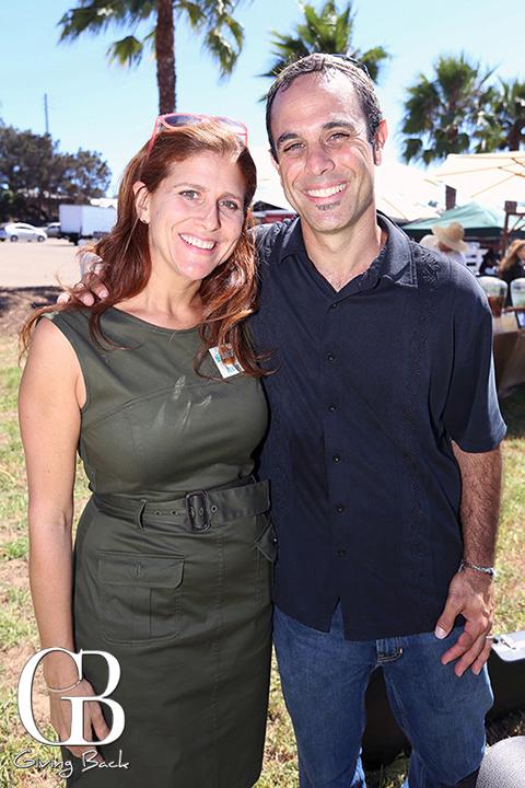 Naomi Rabkin and Craig Parks