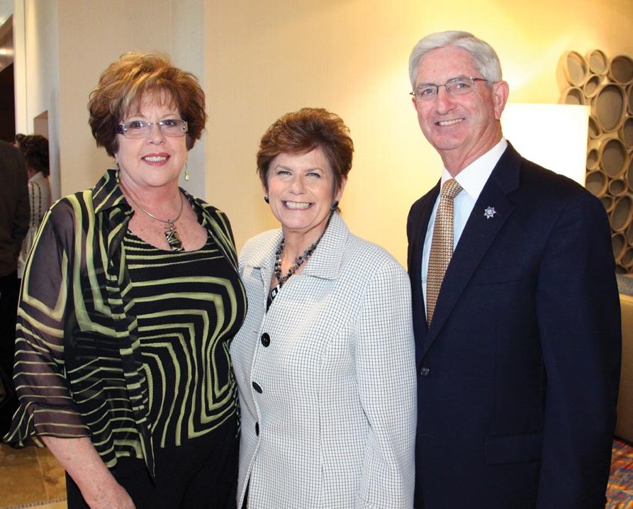 Natalie Gore, Bonnie Dumanis and Sheriff Bill Gore +.JPG