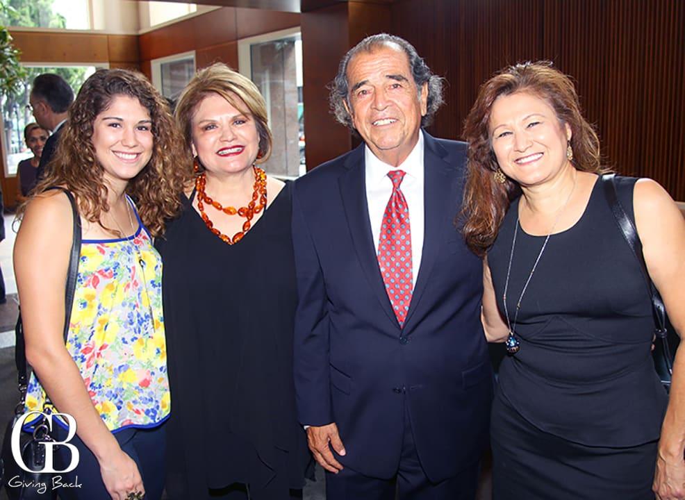 Natalie Muscat  Francis Contreras  Roberto Cornejo and Veronica Muscat