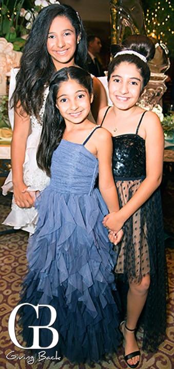 Natalie  Celine and Cloe