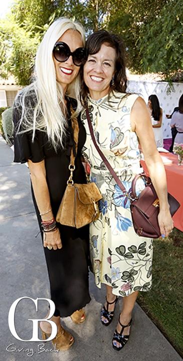 Natasa Burnett and Linda Jaffe