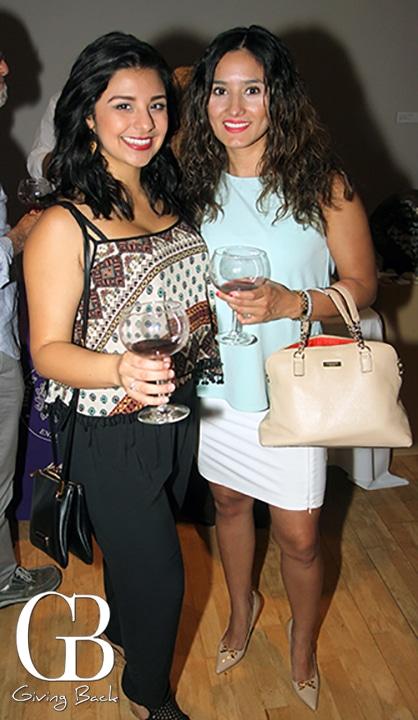 Nathalia Ponce and Karla Camacho