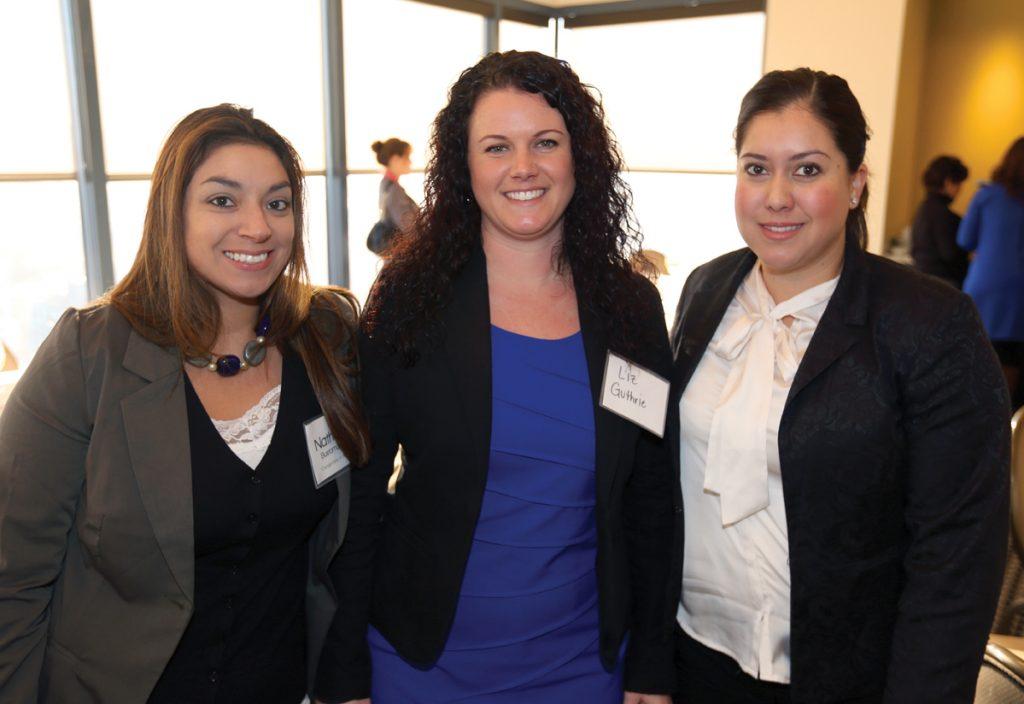 Nathalie Bustamante, Liz Guthrie and  Yolada Apalategui.JPG