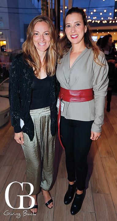 Nathalie Papenhagen and Naomi Gallego