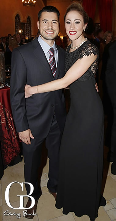 Nathan Medina and Brooke Haffelmann
