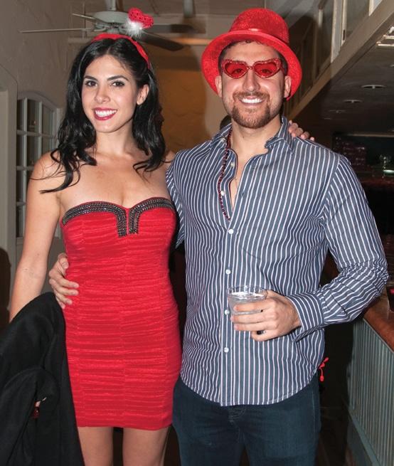 Neda Faraji and Brandon Tabassi