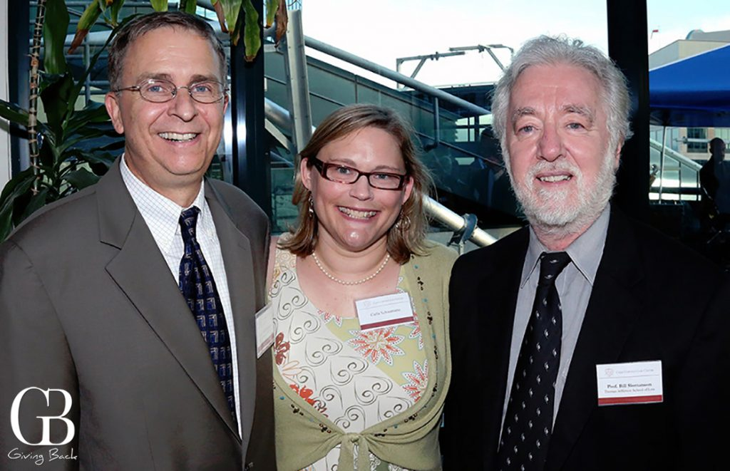 Neils and Carla Schaumann with Bill Slomanson