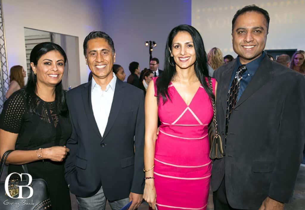 Nenu and Mannie Singh with Chindhana and Bobby Konganda