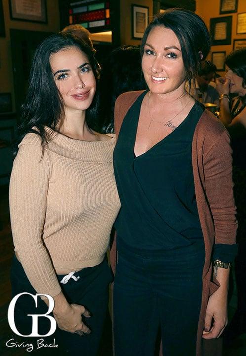 Nezha Gazi and Missi Burns
