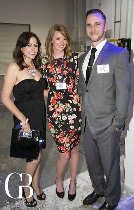 Nicole Pavloff with Kristen and Adam Kuapa