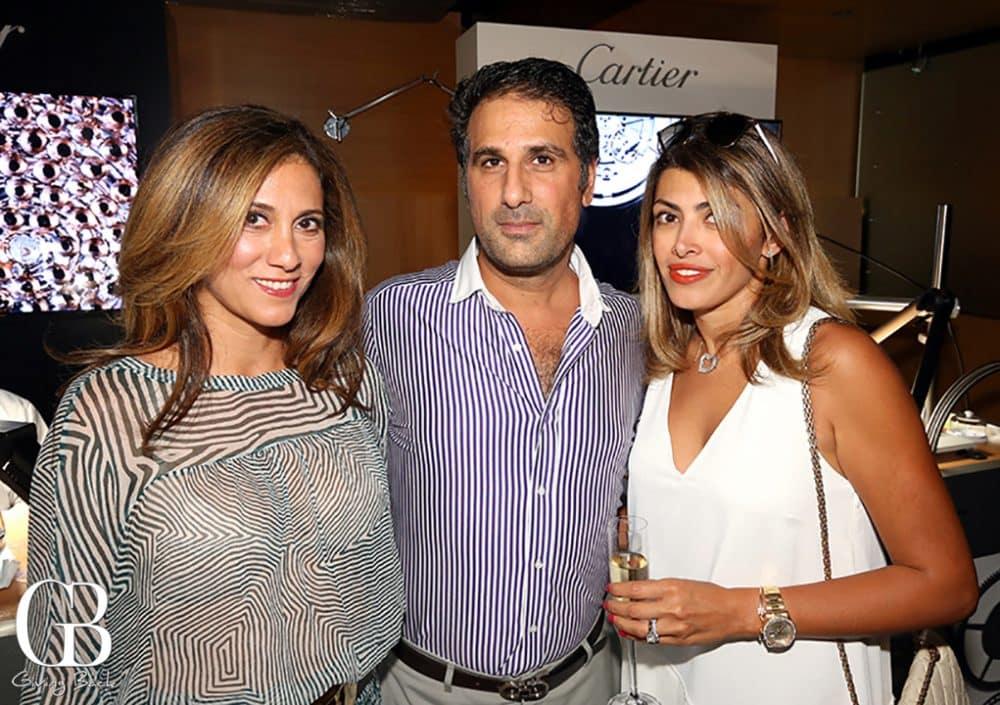 Nika and Ramin Samimi with Leyla Canive