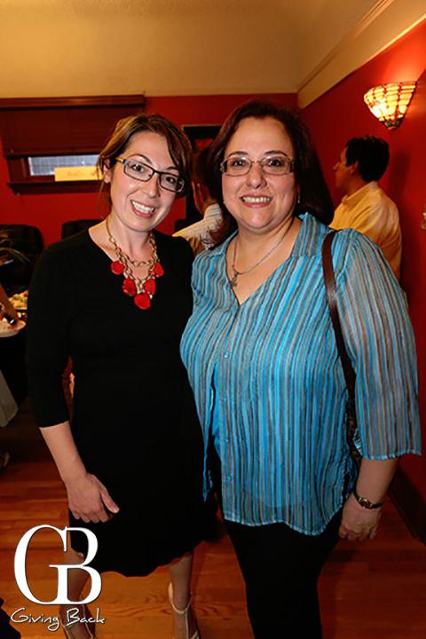 Nomi Moradzadeh and Maria Gastelum