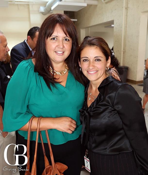 Nora Vargas and Jennifer Santander