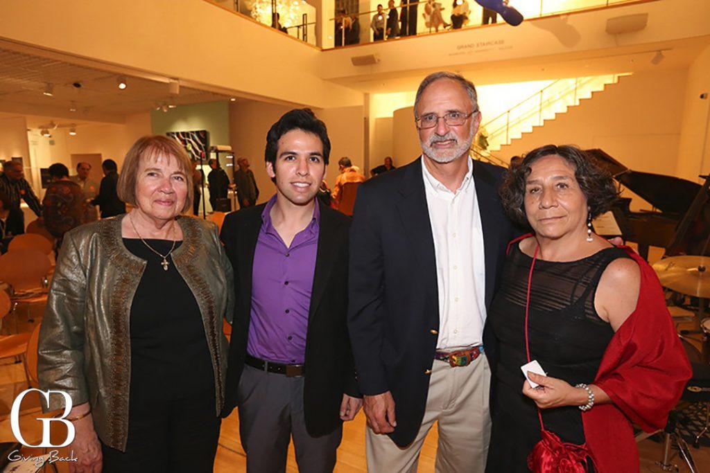 Norma Hidalgo del Rio  Walter Padilla  Charles Shapiro and Mariza Sanchez