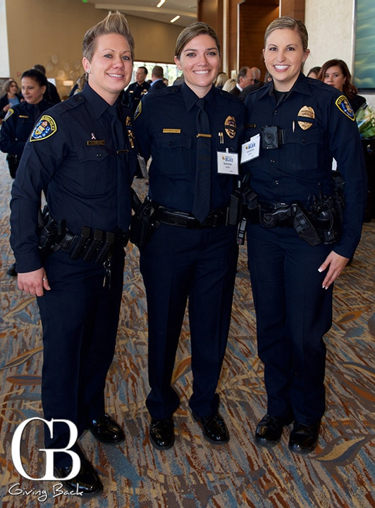 Officer Brittany Quillin  Officer Summer Quillin and Officer Victoria Stark