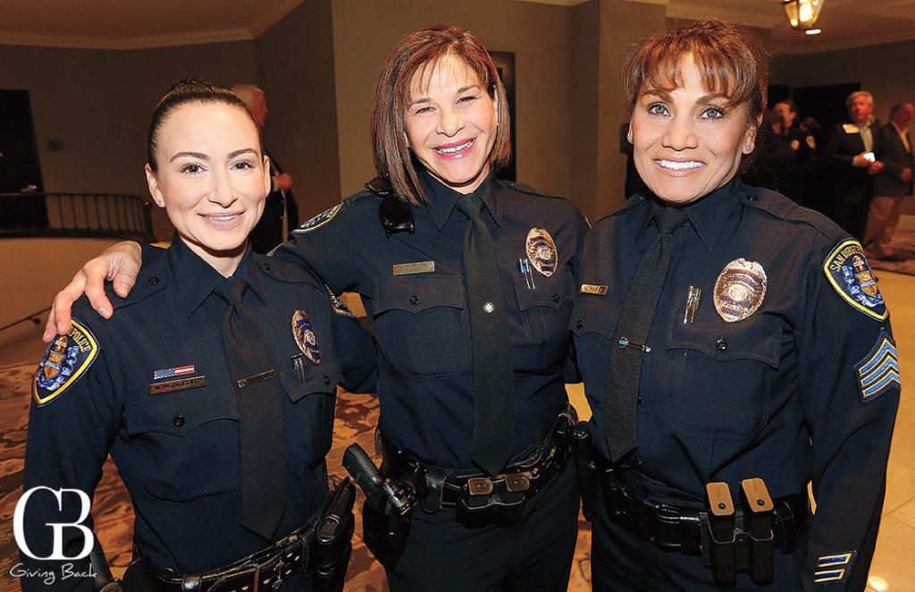 Officer Nicole Mondello  Detective Hilda Gonzalez   Reed and Sergeant Esmeralda Tagaban